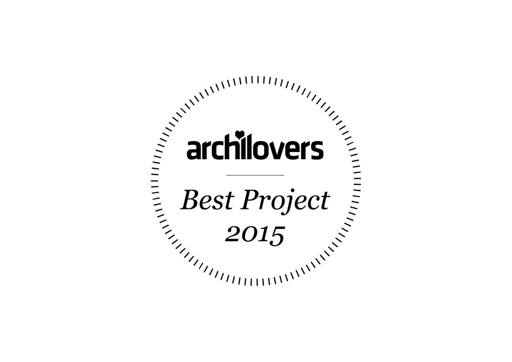 Best project 2015 by archilovers