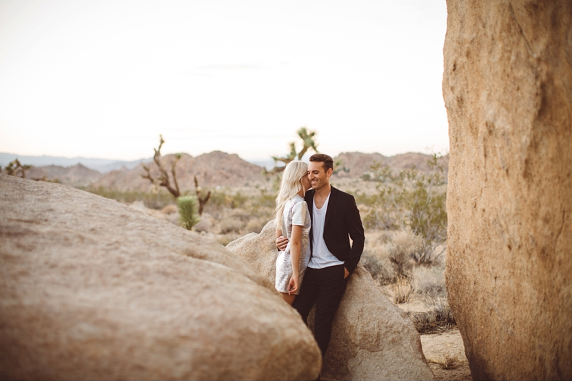 engagement session joshua tree