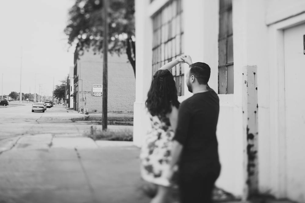 industrial engagement shoot