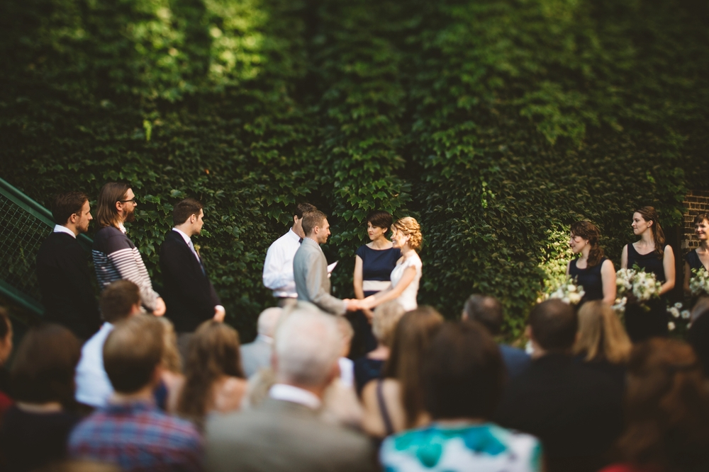 outdoor firehouse chicago wedding
