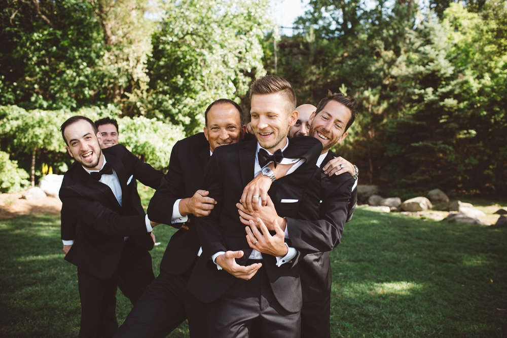 best friend groomsman