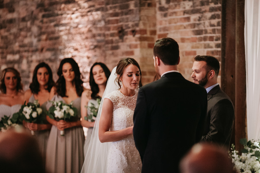 kenmare loft wedding vows