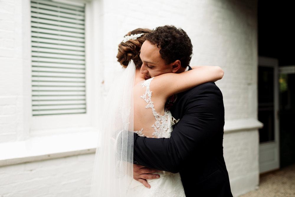 intimate northern michigan wedding photographer