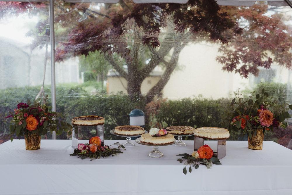 cheesecake wedding cake perry hotel