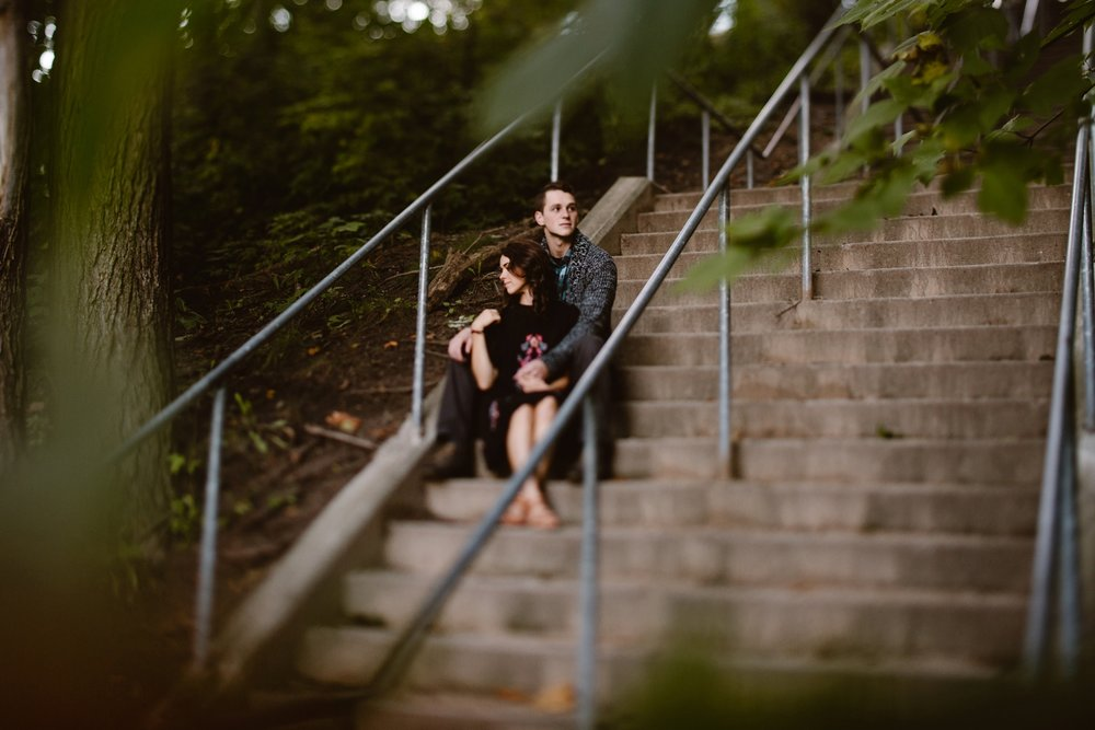 grand rapids engagement session
