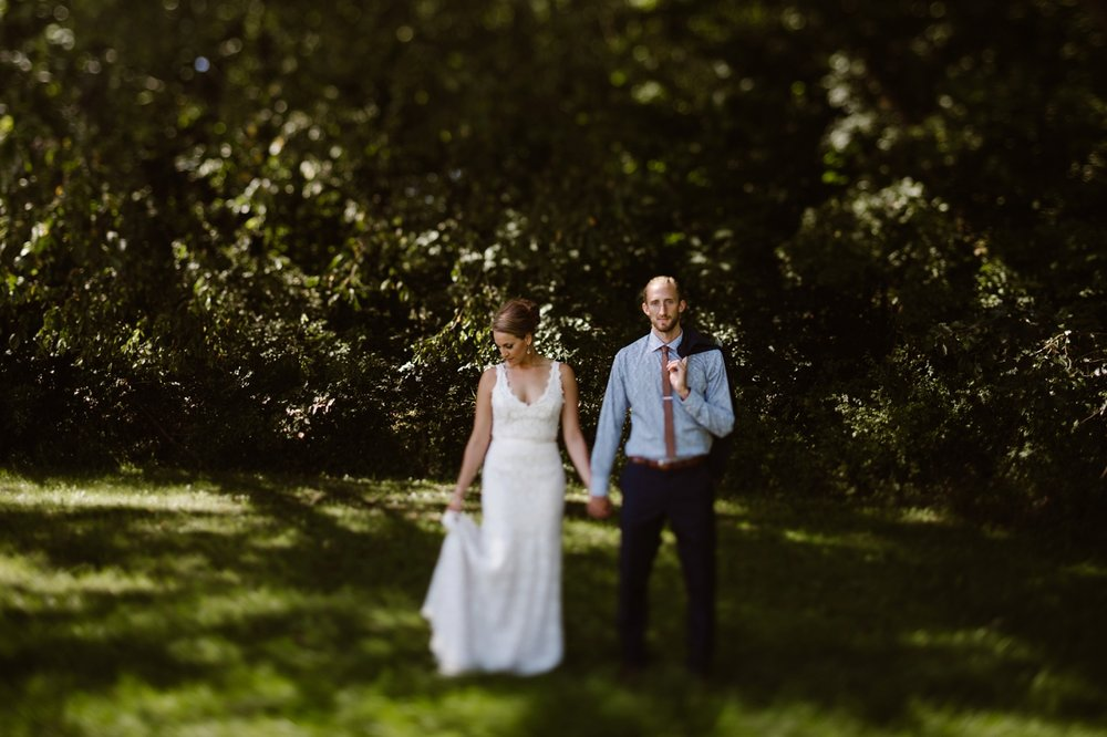 non-traditional grand rapids wedding photographer