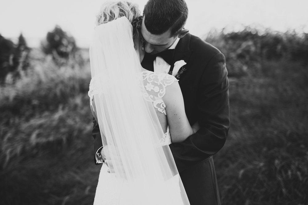 intimate northern michigan outdoor wedding