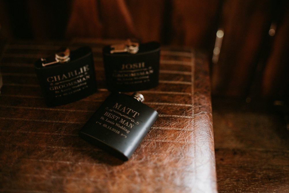 custom flasks for groomsman gifts