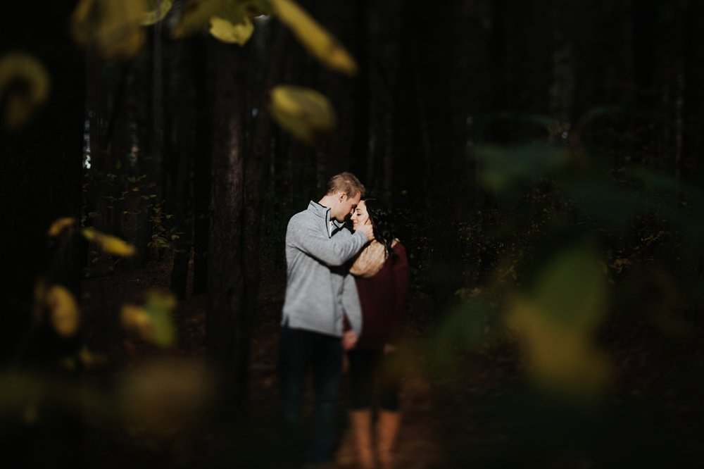 upper peninsula artistic wedding photographer