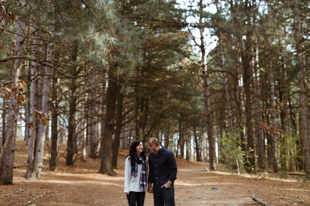 provin trails engagement session