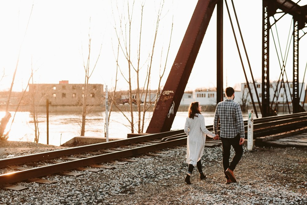 intimate ozarks elopement