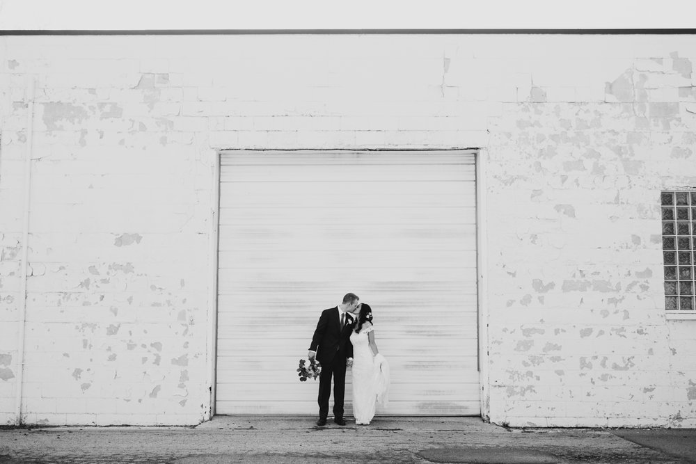 industrial western michigan wedding photographer