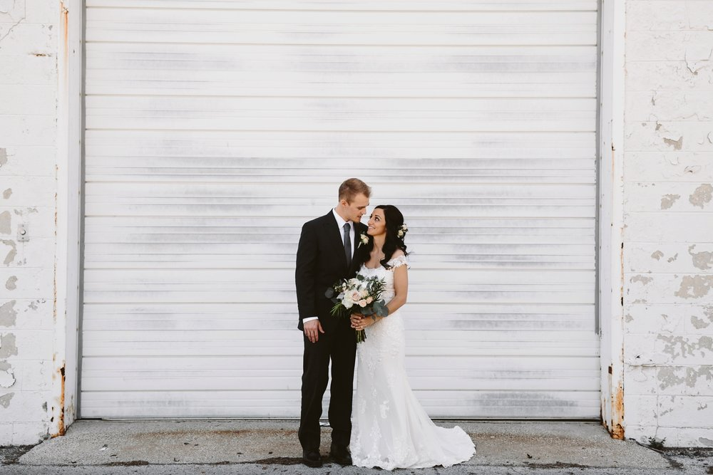 baker loft industrial wedding venue