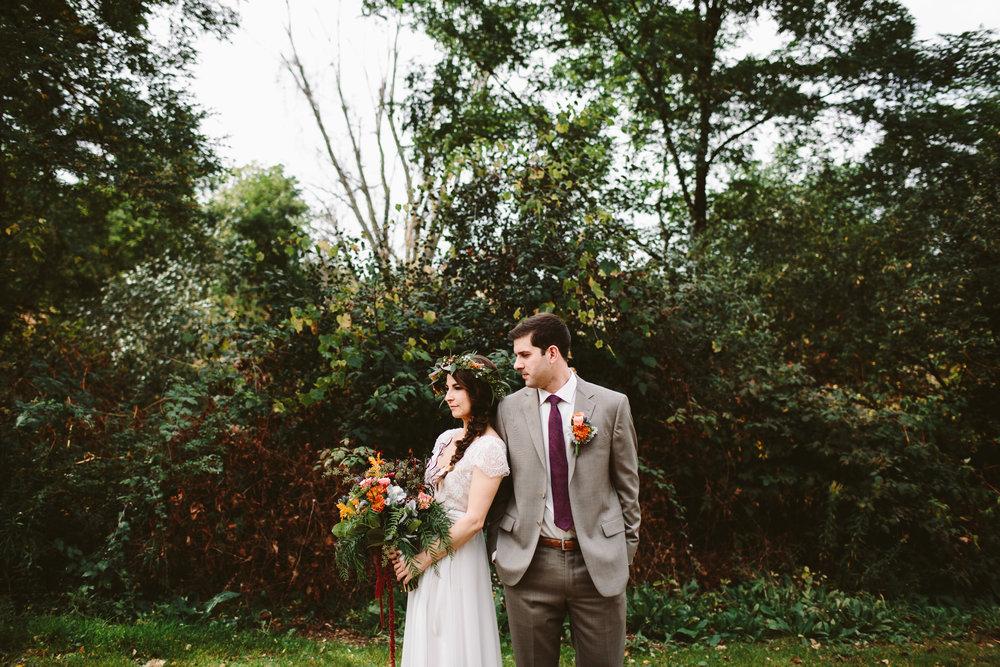 kalamazoo nature center outdoor wedding