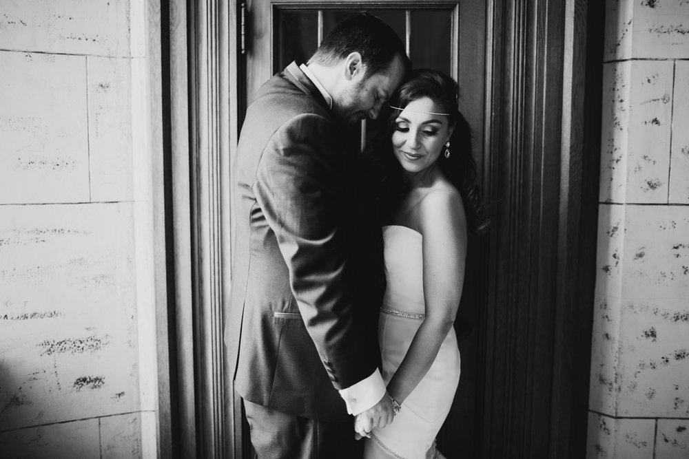 historic downtown detroit michigan wedding