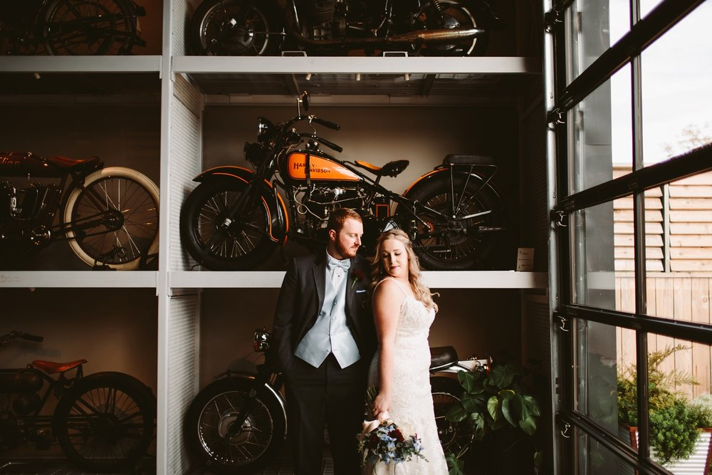 Warehouse 109 Industrial Wedding photographer