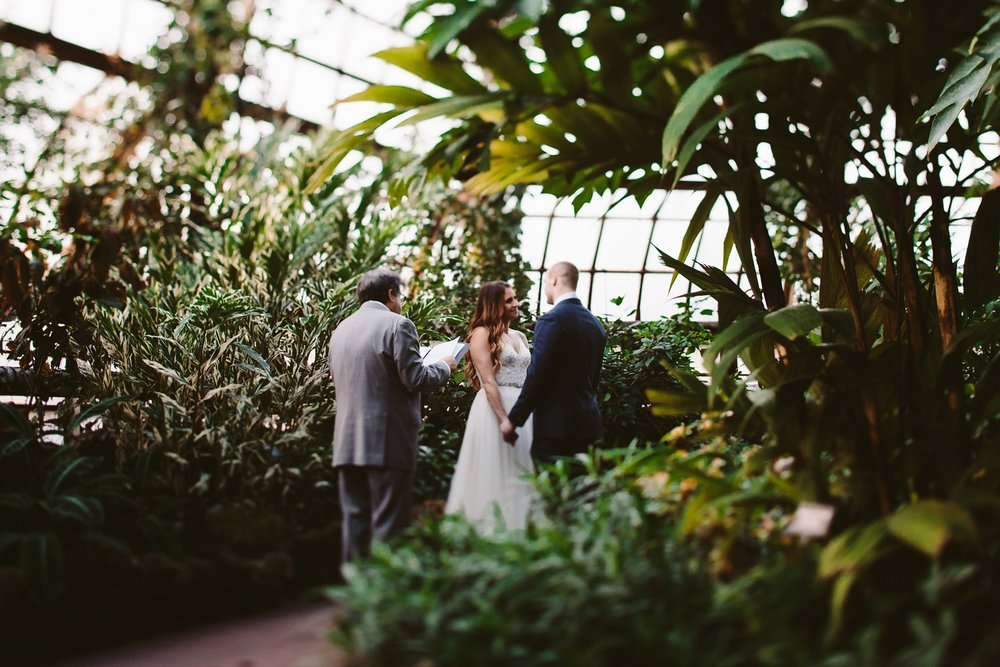 grand rapids downtown market conservatory wedding