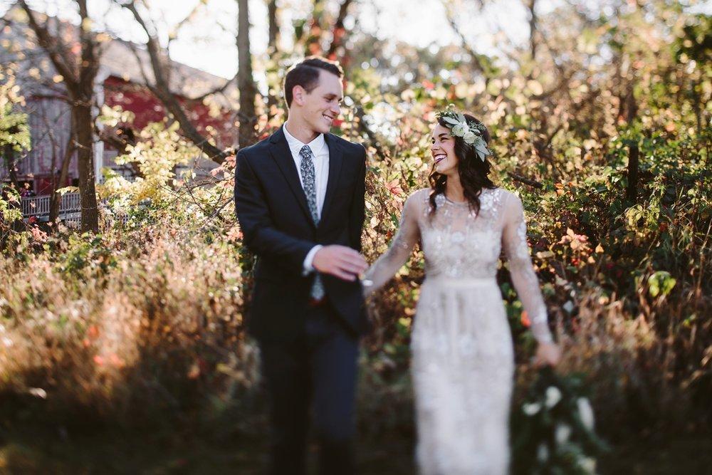 detroit rooftop outdoor wedding photographer