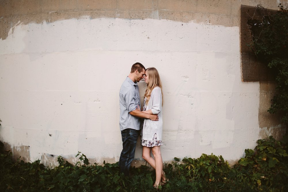 downtown grand rapids engagement session