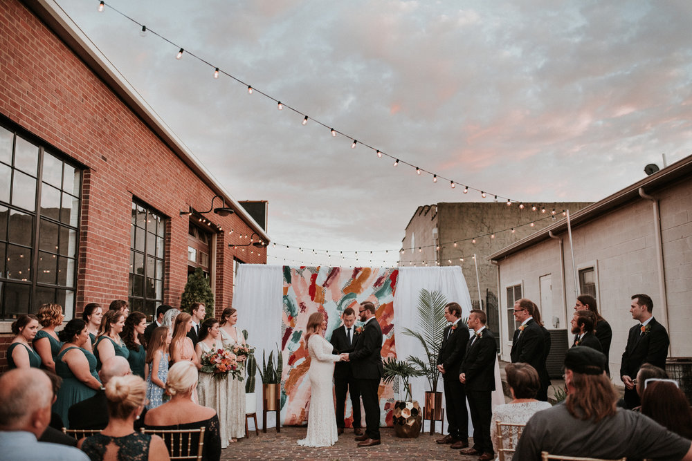 Brad and Ashley's Mid Century Wedding  Paducah, Kentucky