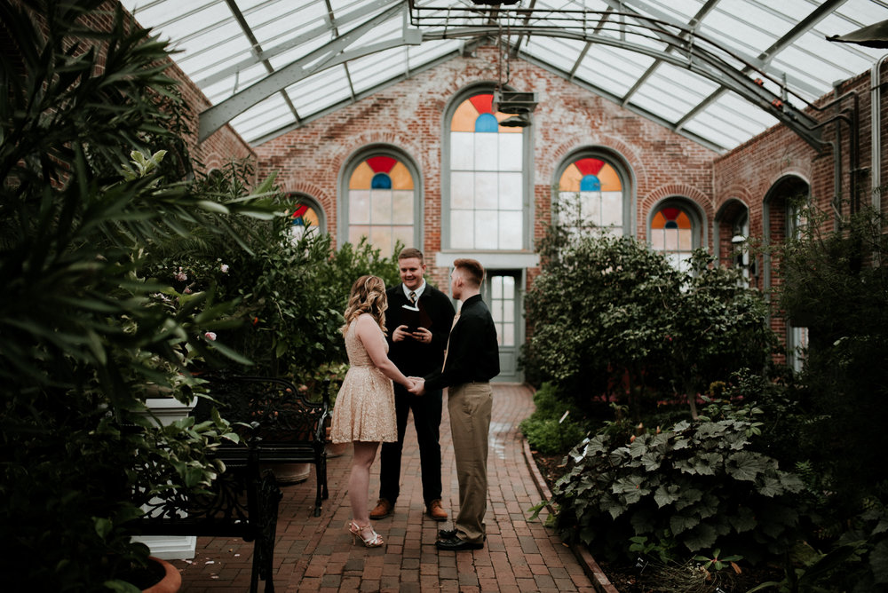 Rebekah + Trey's elopement in St. Louis