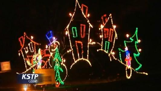 Phalen Park Christmas Lights
