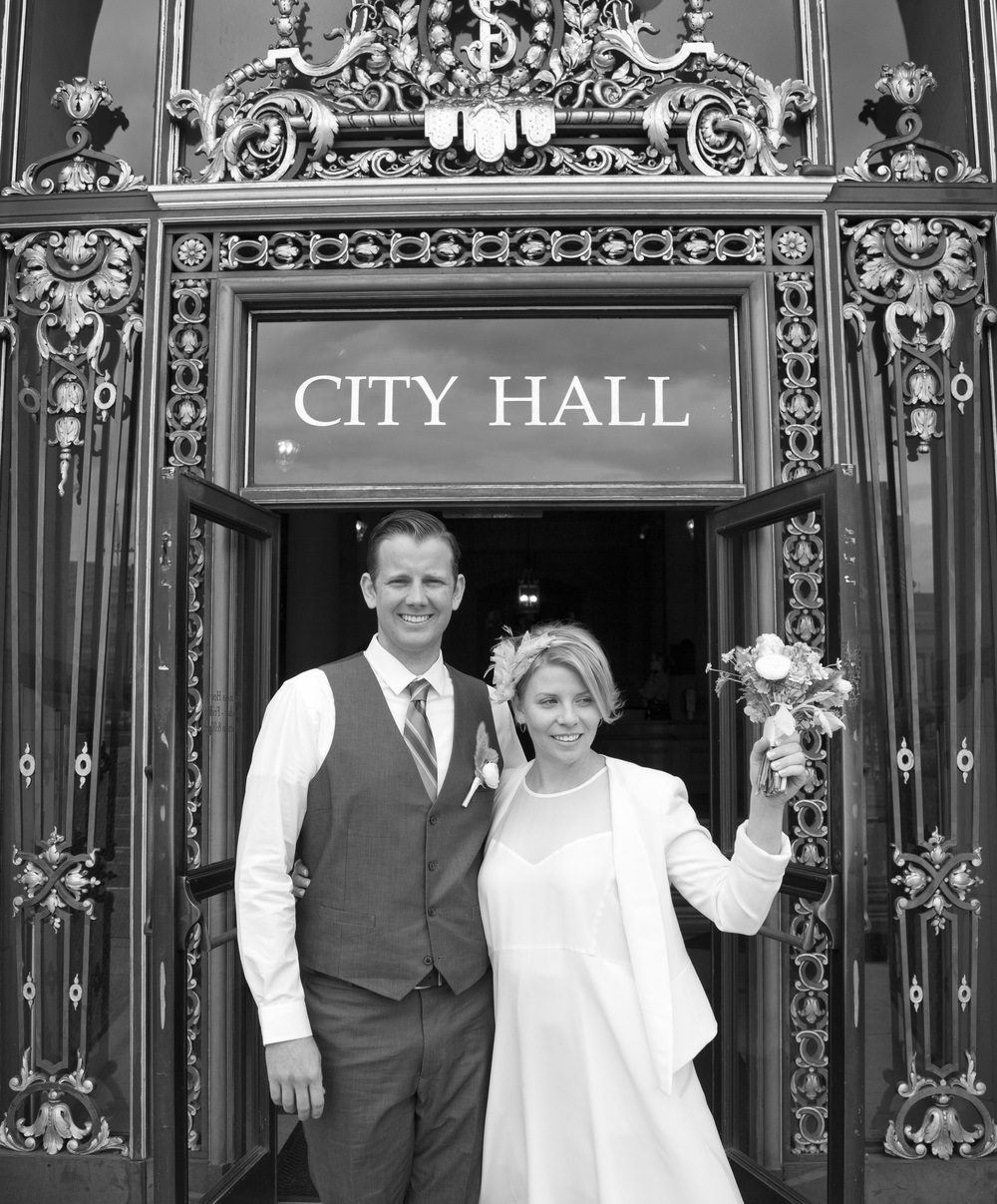 C&J - City Hall doorway2 - B&W.jpg