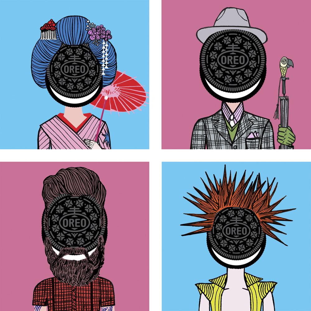 Oreo Cookie-Character generator.