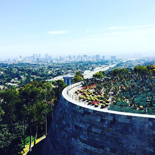 Loving LA from this perspective #thegetty