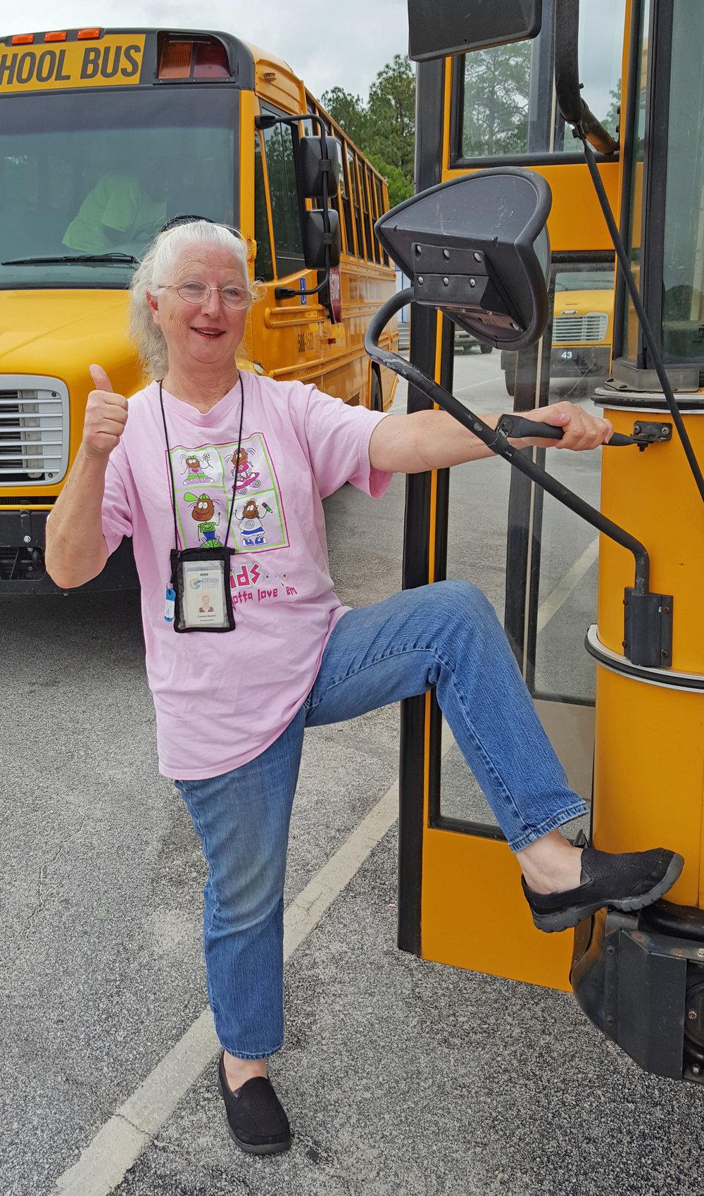 Cecelia Maples, Kershaw County school bus driver.