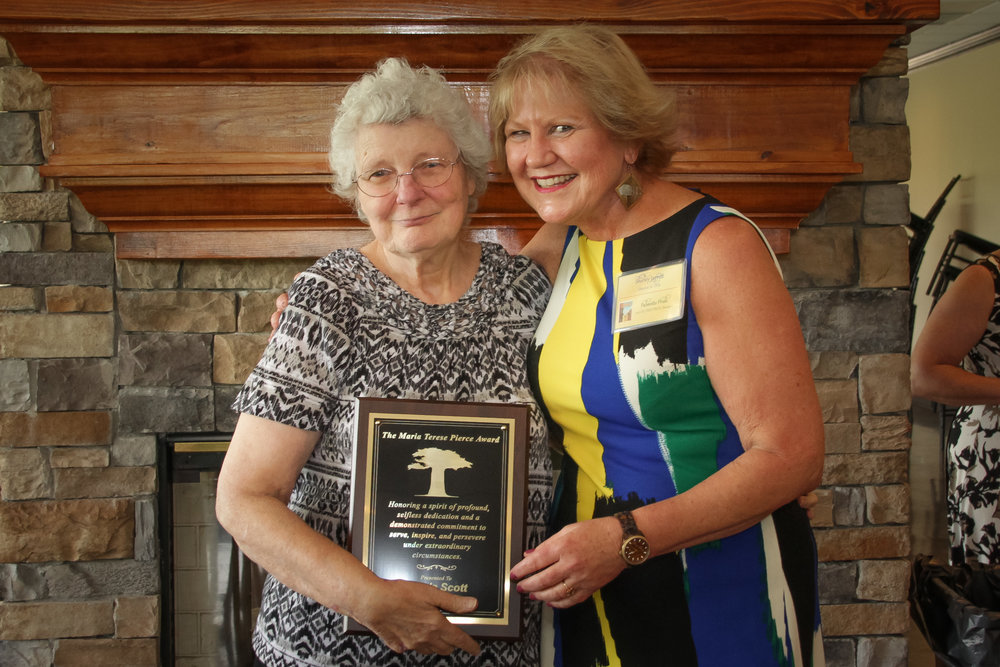 Maria Terese Pierce Award  Wanda Scott - Greenville DDS Shirley Jarrett, Disability Determination Services (DDS) Director