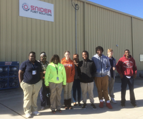 Colleton County High School students toured Pruitt Health, Snider Fleet Solutions, and Palmetto Training Center.