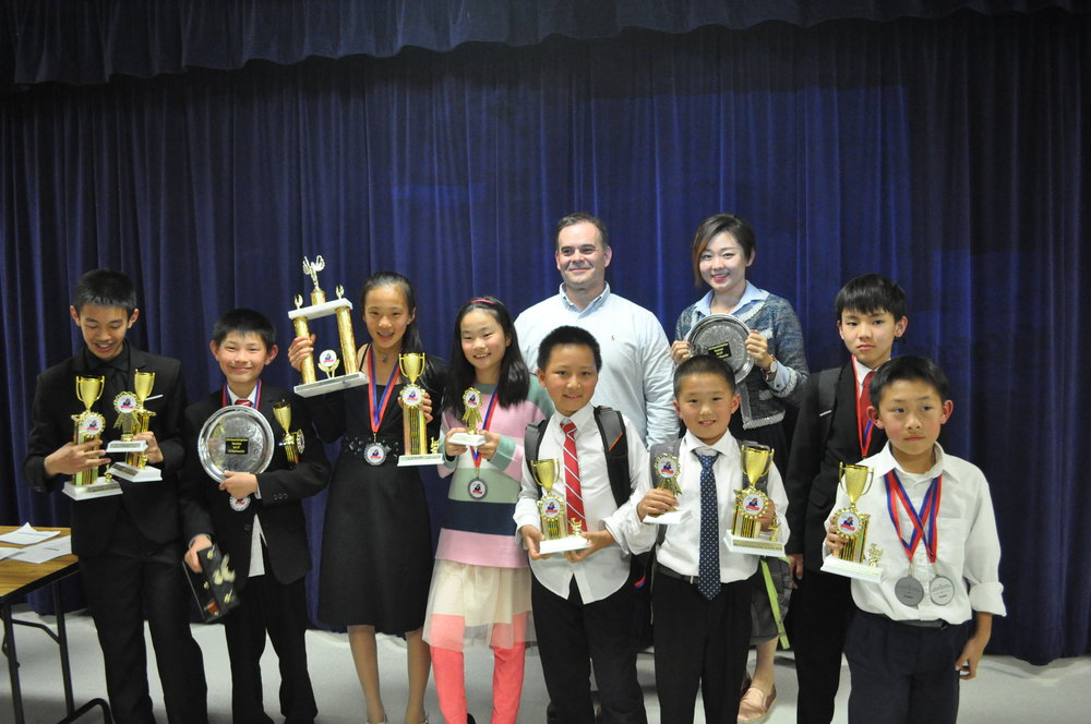 Our students took 1st place overall in middle school and 3rd overall in elementary. We had students win in every category of speech: limited preparation, platform, interpretation of literature (acting), and debate. So proud of all of you!