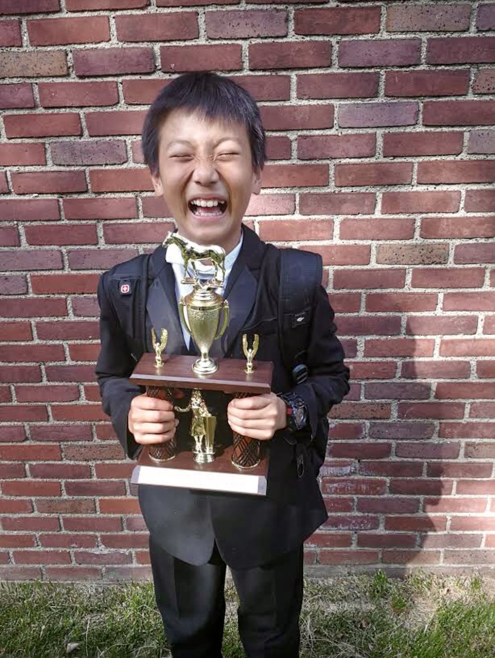 Arthur: 5th place extemp.