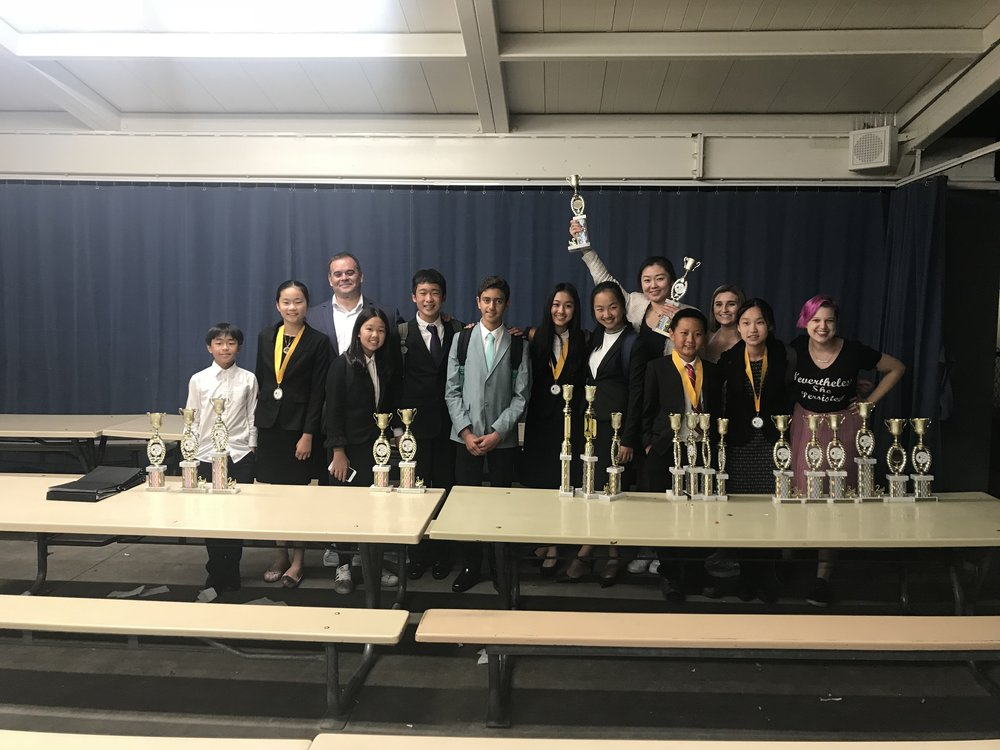 2018 Orator's Cup Speech and debate tournament