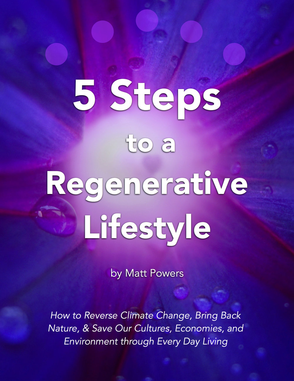 5 Steps to a Regenerative Lifestyle Front Cover.jpg