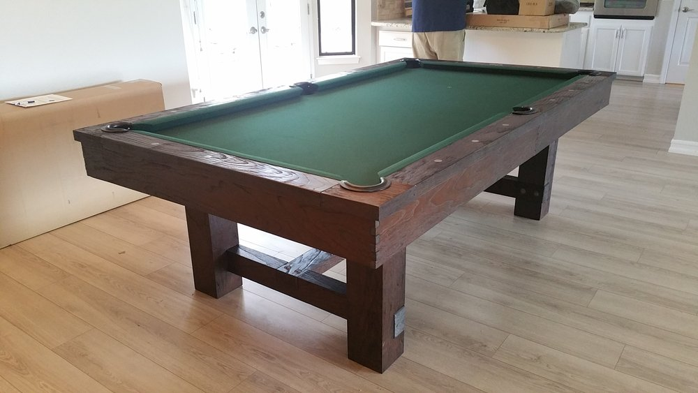 Sid Page Penn Valley CA Imagine That Pool Tables - Reno pool table