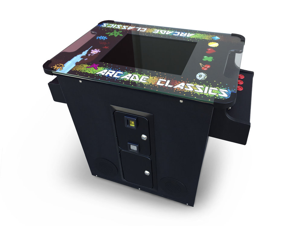 Full Sized Cocktail Arcade W/412 Games