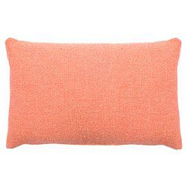 Sloane Coral Lumbar Cushion via heals.co.uk