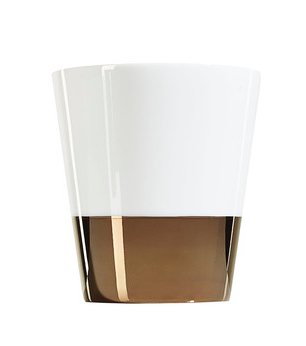 Metallic Porcelain Candle by Linley