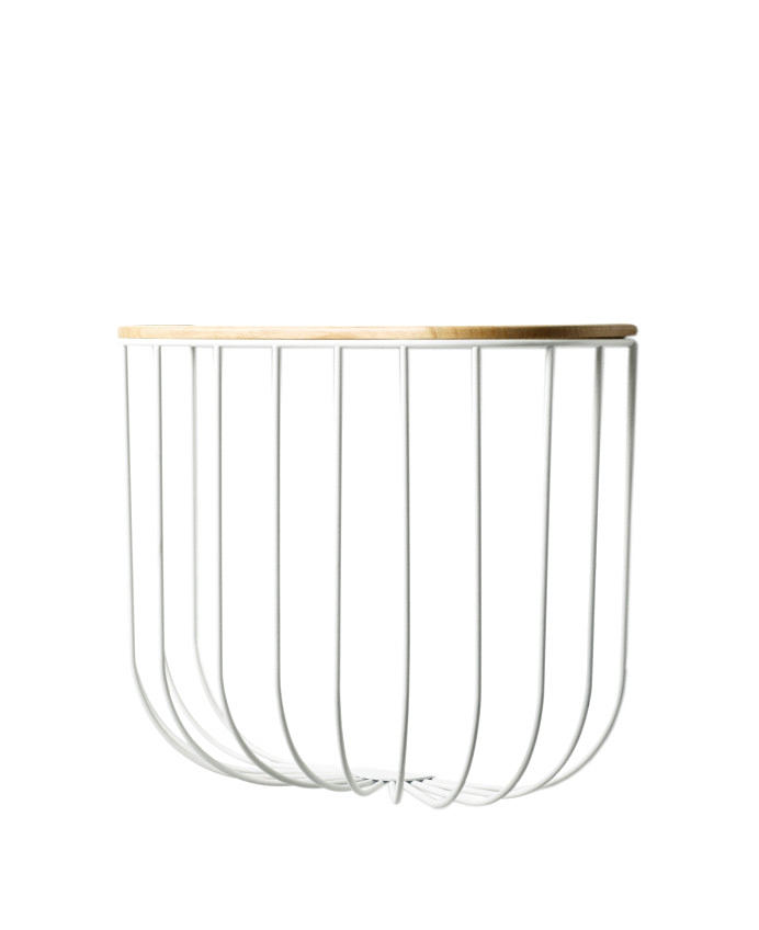StudioGabrielle-Inspired-Melbourne-Homewares-ResidentGPHomeware-FUWL-Cage-Shelf-White-LightAsh-Wood-studiogabrielle.co.uk