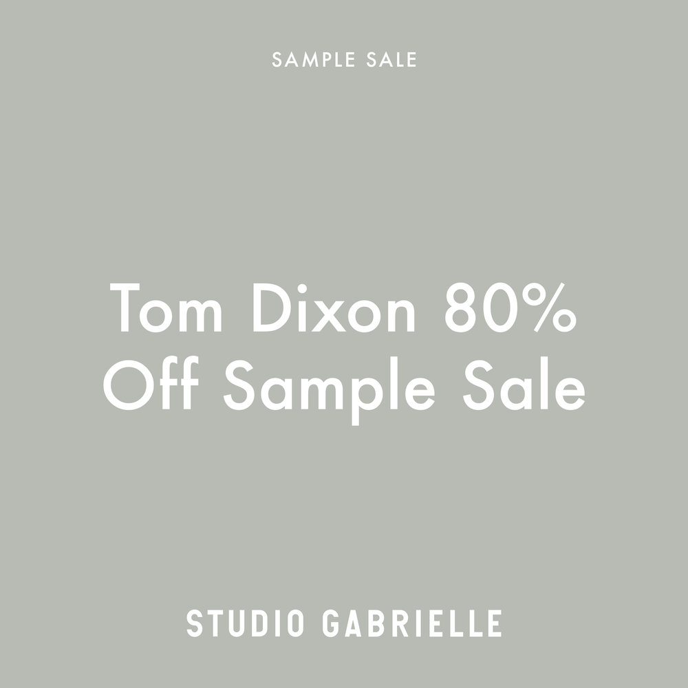 StudioGabrielle-TomDixon-Sample-Sale-studiogabrielle.co.uk
