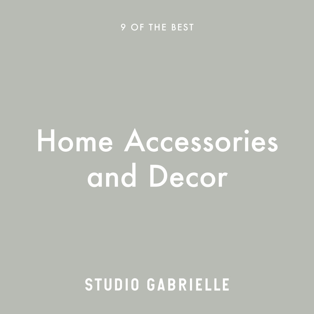 StudioGabrielle_HomeAccessoriesDecor