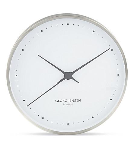 GEORG JENSEN Stainless steel wall clock_£340.jpeg