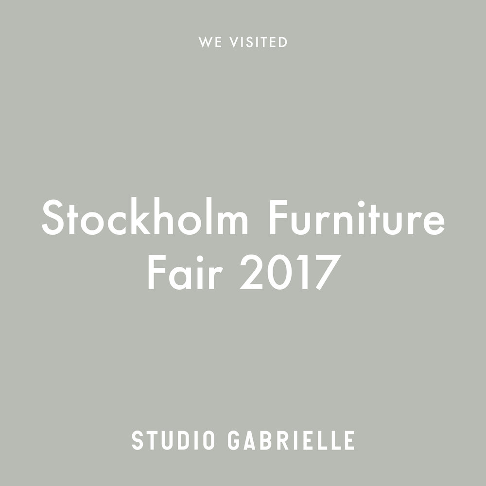 StudioGabrielle_WeVisited_StockholmFurnitureFair_SFF