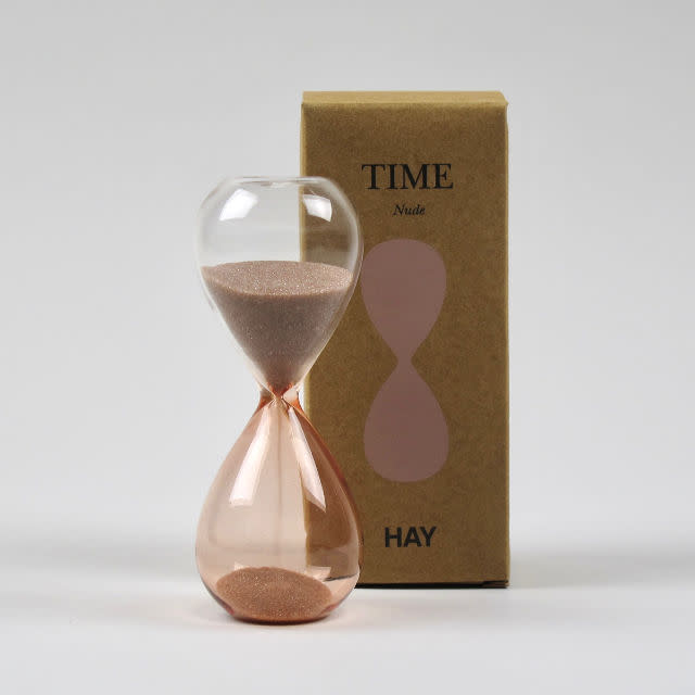 StudioGabrielle_Hay - Nude 3 Minutes Glass Sand Timer