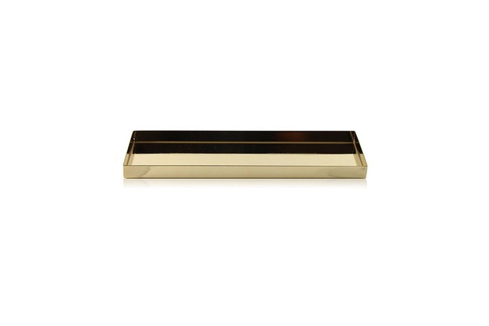 StudioGabrielle_Cooee Design - Tray 32 x 10 x 2cm Brass