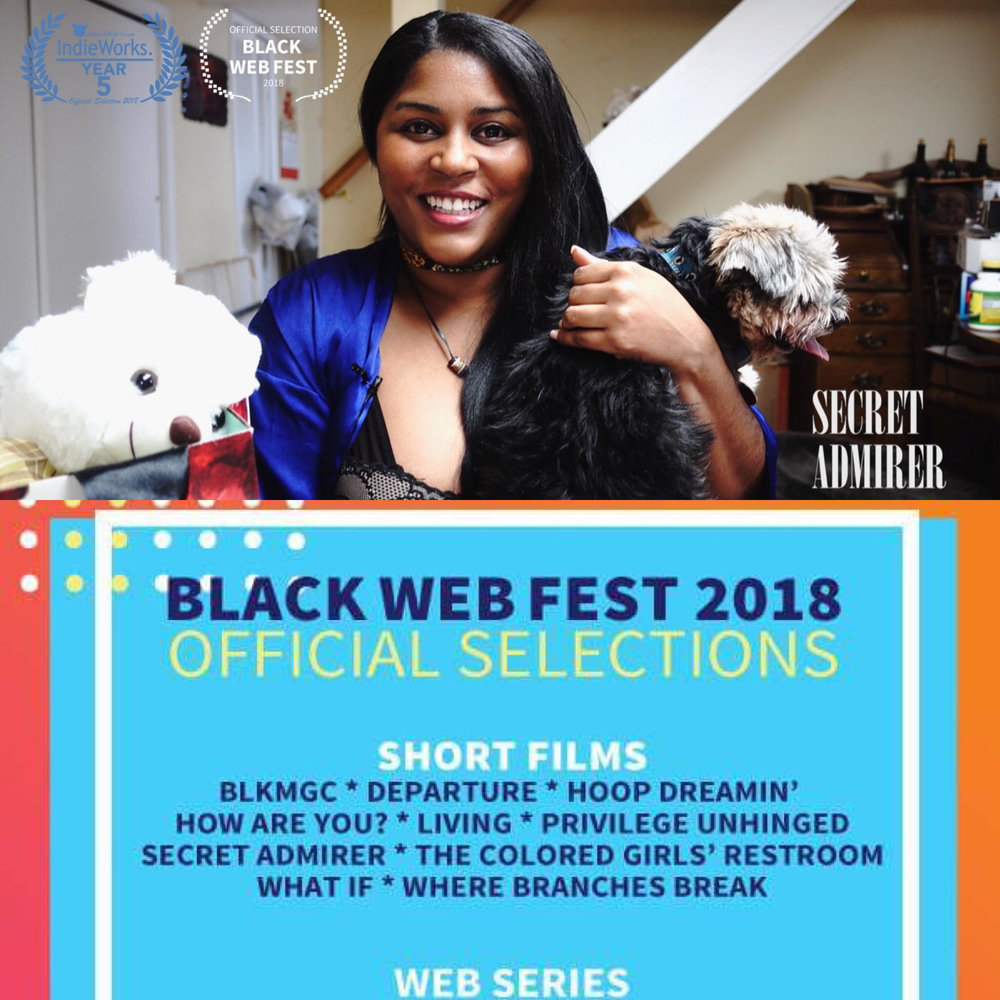 SECRET ADMIRER Black Web Fest 2018