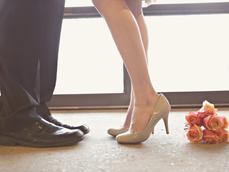 bridal engagement session
