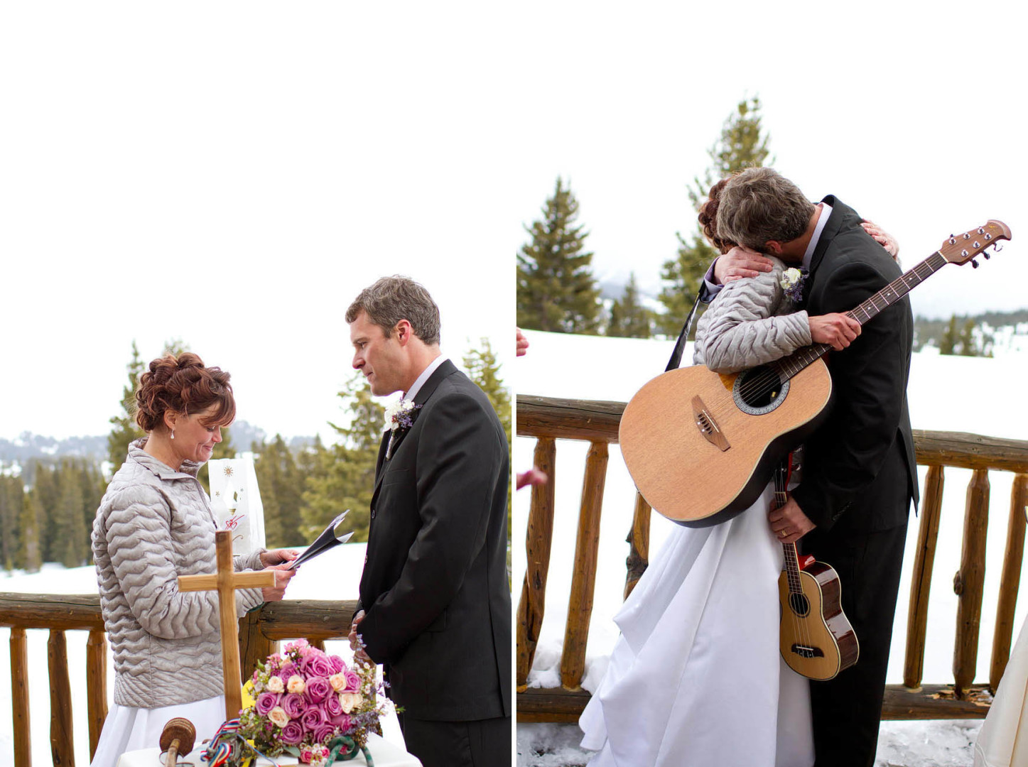 Vail Colorado Spring Wedding, Desiree Mostad, Wedding Photographer, Vows, Shrine Mountain, Bryllup fotograf